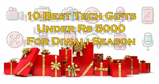 10 Best Tech Gifts Under Rs 5000 For Diwali Season