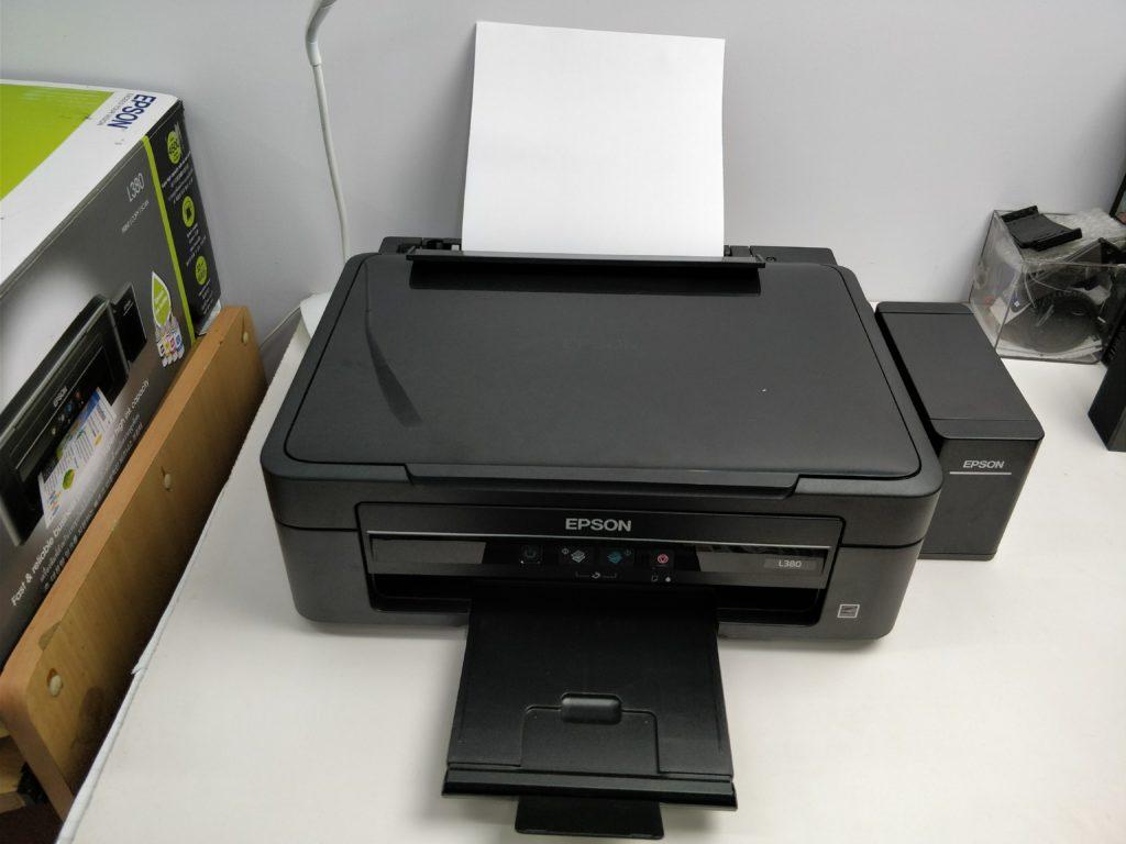 Epson L380 Ink Tank Printer Review