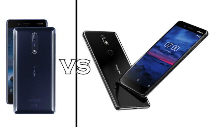 Nokia 7 Vs Nokia 8 Comparison