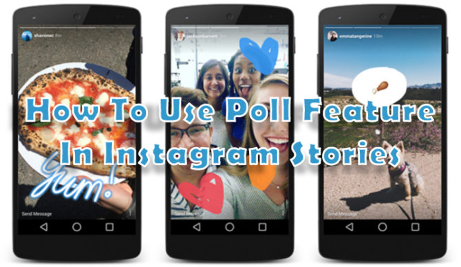 How To Use Poll Feature In Instagram Stories