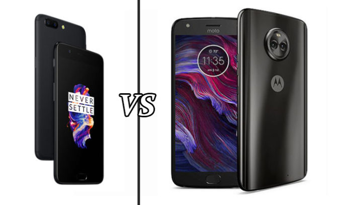 Moto X4 Vs OnePlus 5 Comparison