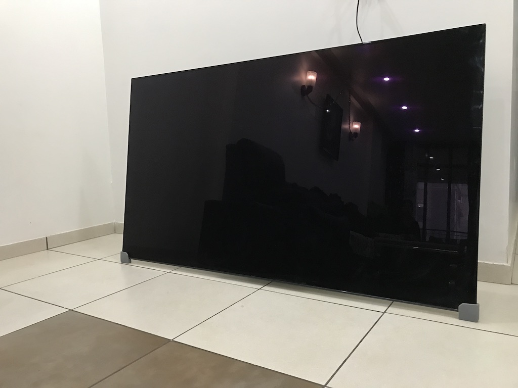 sony bravia a1 oled 65 inch tv review24 intellect digest india. Black Bedroom Furniture Sets. Home Design Ideas