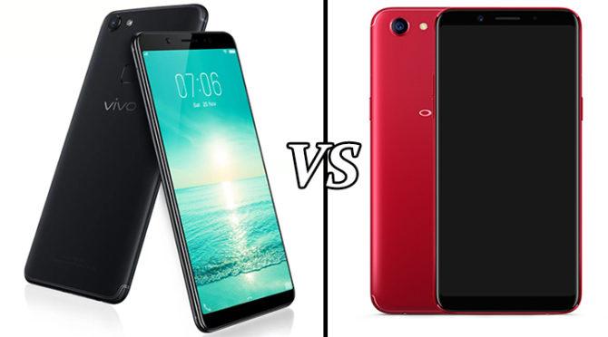 Vivo V7 Vs Oppo F5 Comparison