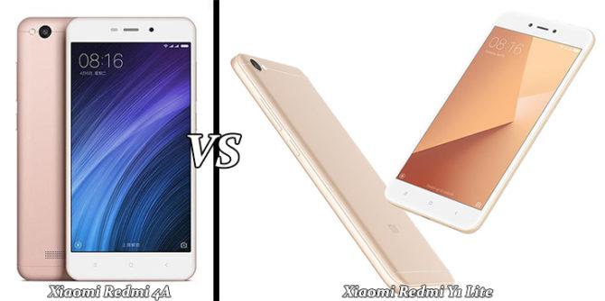 Xiaomi Redmi Y1 Lite Vs Redmi 4A Comparison