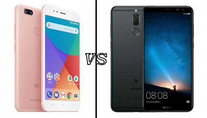 Xiaomi Mi A1 Vs Honor 9i