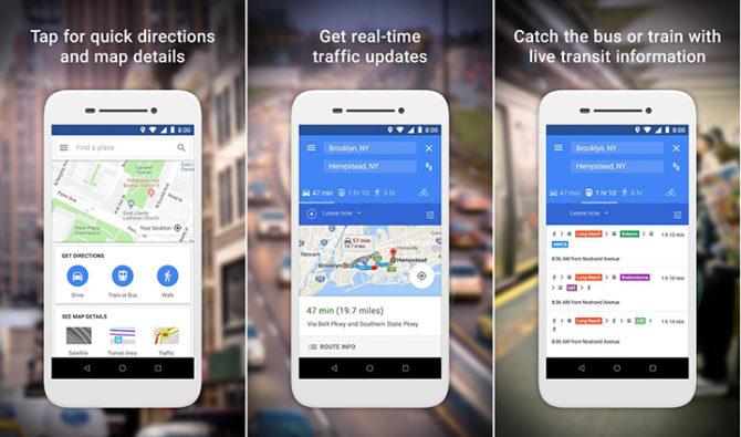 Google Maps Go App
