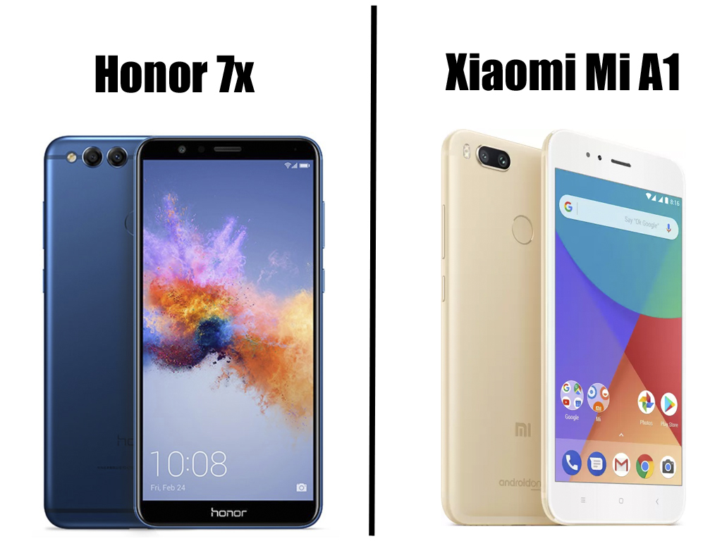 Honor 7X VS Xiaomi Mi A1- Which Is Better And Why?