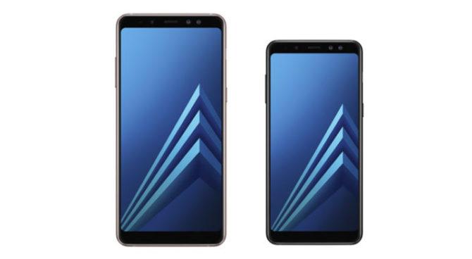 Samsung Galaxy A8 (2018), A8 Plus (2018)