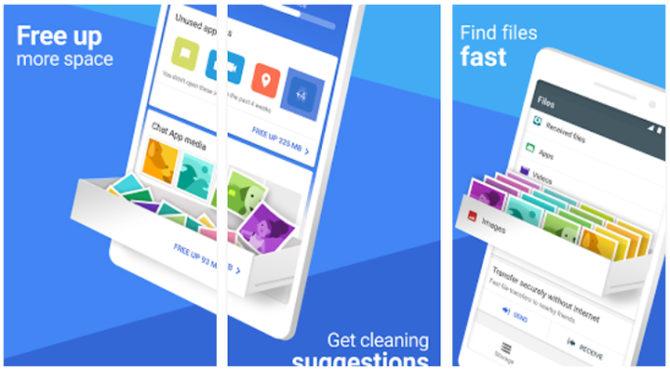 Google Files Go App