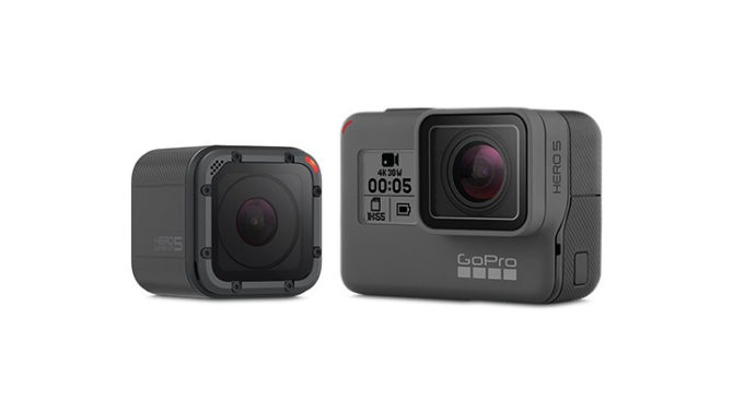 GoPro Hero5 Black, Hero5 Session