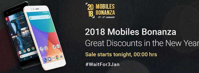 Flipkart 2018 Mobiles Bonanza Sale - Best Smartphone Deals