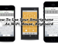 How To Use Your Smartphone As WiFi Mouse, Keyboard