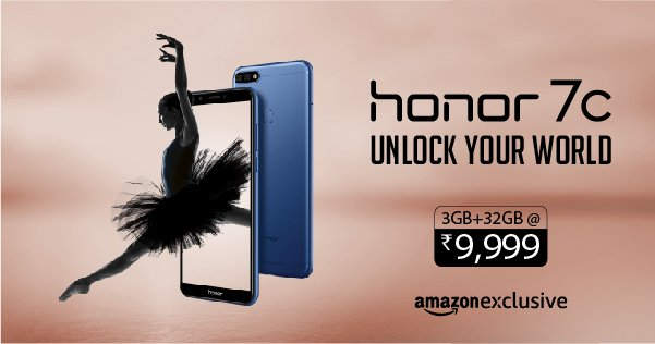 Honor 7C Launched In India, Equipped With Fingerprint Sensor
