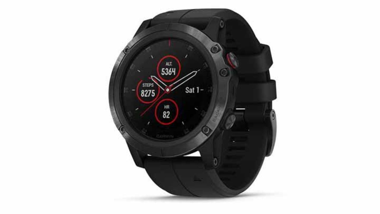 Garmin Fenix 5x Plus Smartwatch Launched In India At Rs 79 990