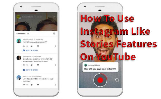Как использовать функции Instagram Like Stories на YouTube