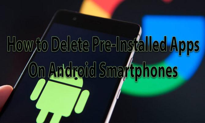 Как удалить предустановленные приложения на смартфонах Android