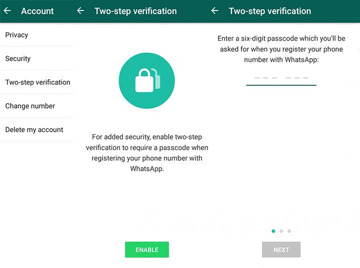 Как защитить WhatsApp с помощью двухфакторной аутентификации