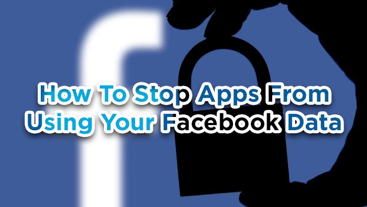Как запретить приложениям использовать ваши данные Facebook